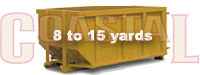 8 to 15 yard dumpster